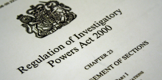 Regulation of Investigatory Powers Bill